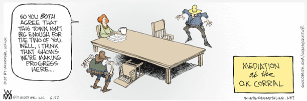 MediationatOKCorral(nonsequitur)